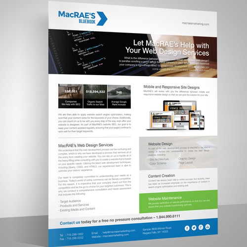 Media Kit for MacRAE'S BLUEBOOK, The SEO Marketing Company
