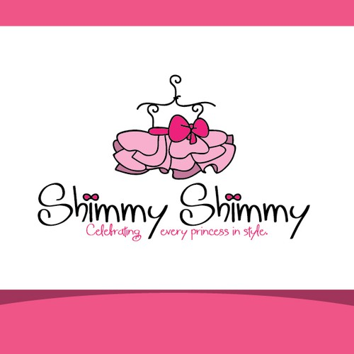 Create the next logo for Shimmy Shimmy