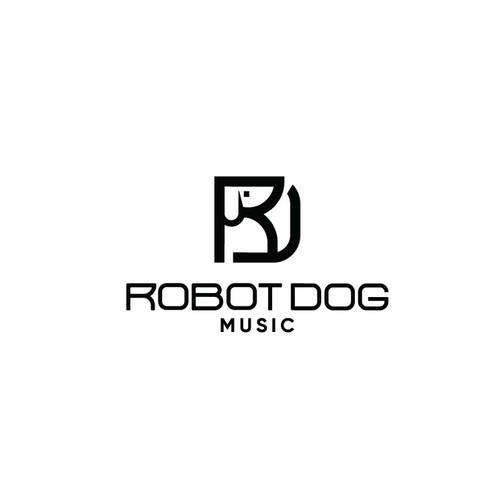 Dog- monogram