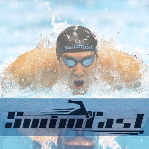 Create a new brand logo for swimming company