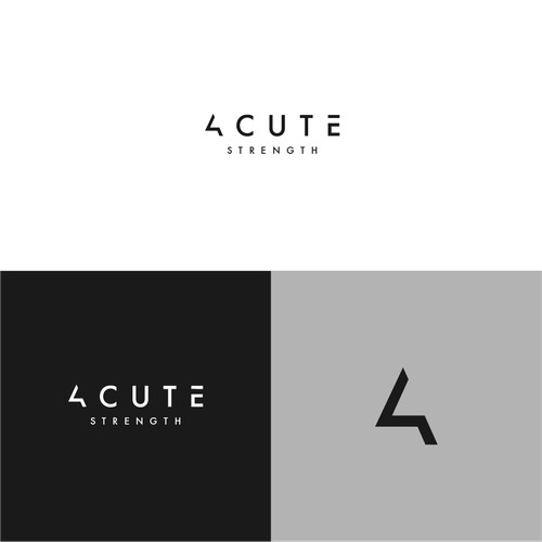Logo Design for Acute Strength