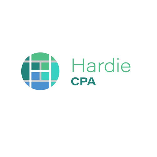 logo for young female CPA