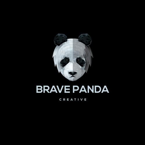 logo for brave panda