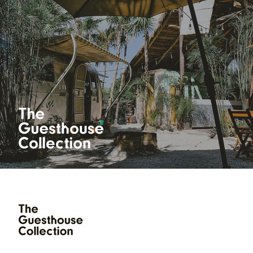 Logo proposal for The Guesthouse Collection.