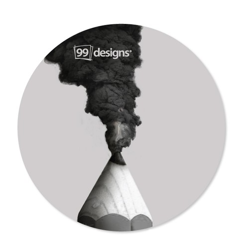 Sticker for 99 Designs