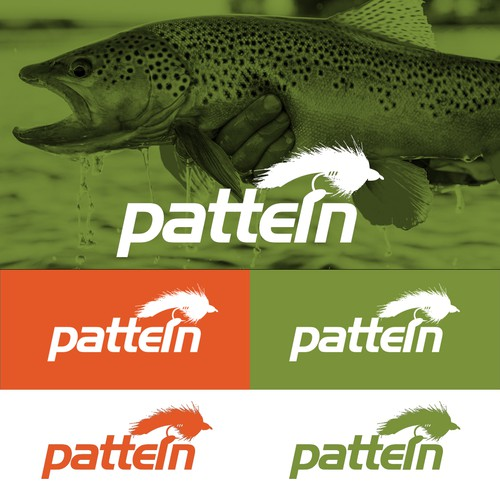 Design a bold, modern fly fishing logo for Pattern