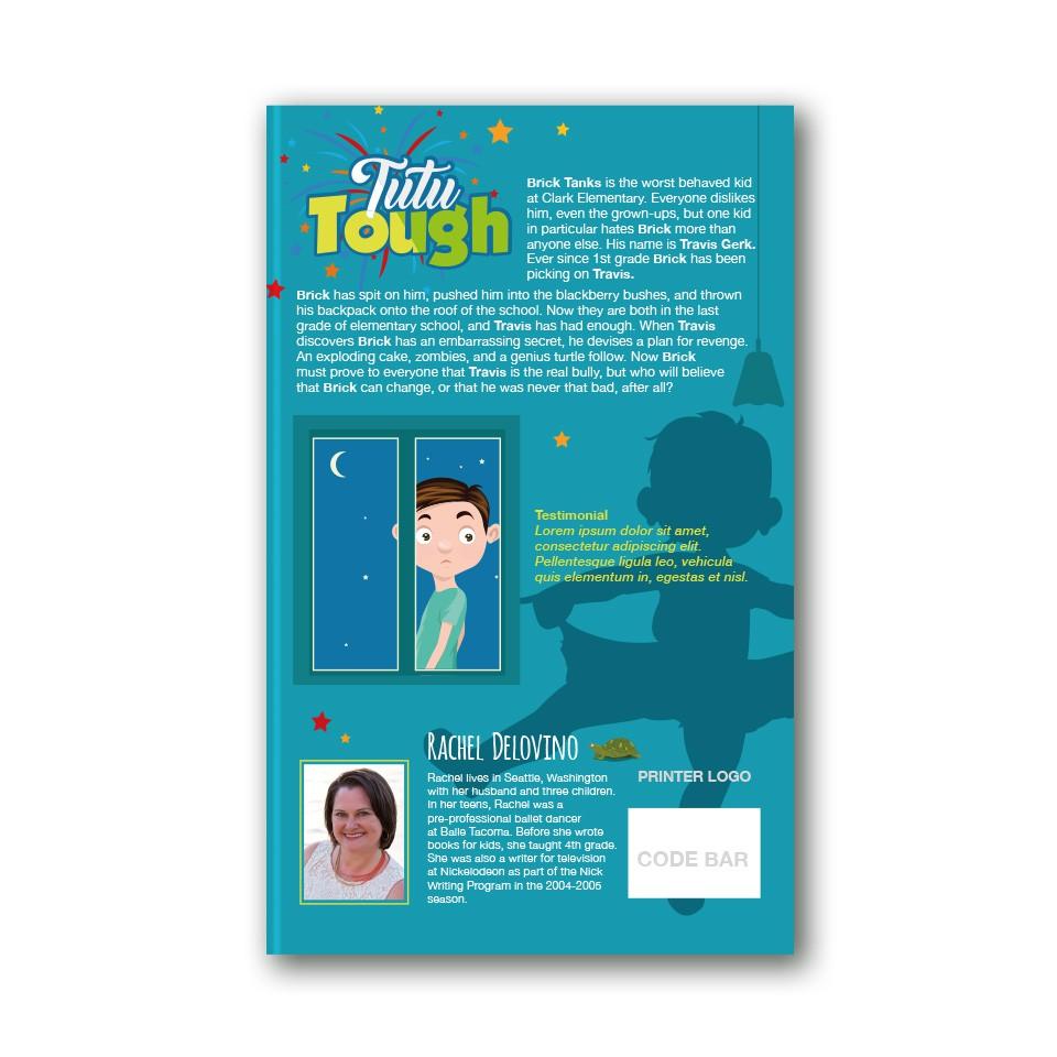 Design a book cover! Middle Grade (ages 8-12) Contemporary Fiction: Fun! Action! Heart!