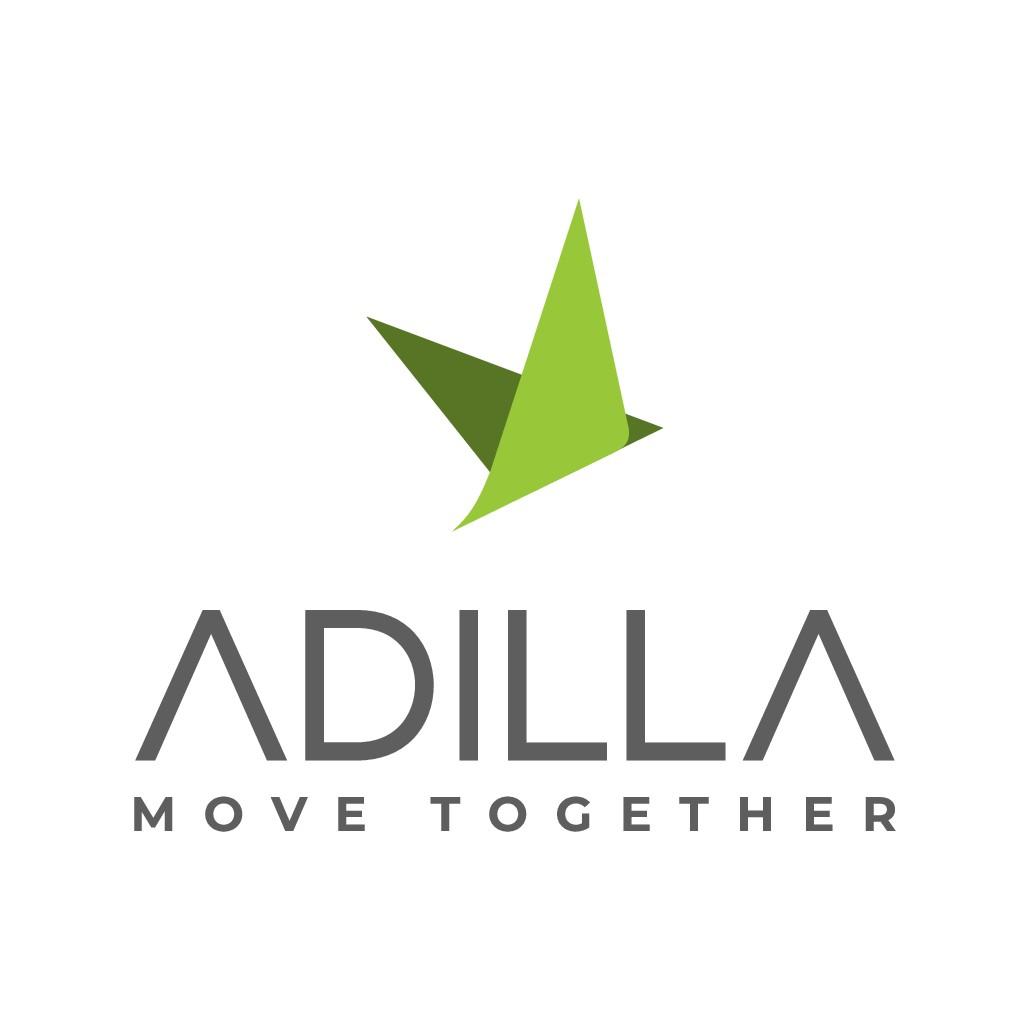 Erstelle ein modernes startup-grooviges Logo für adilla, dem Beratungsunternehmen