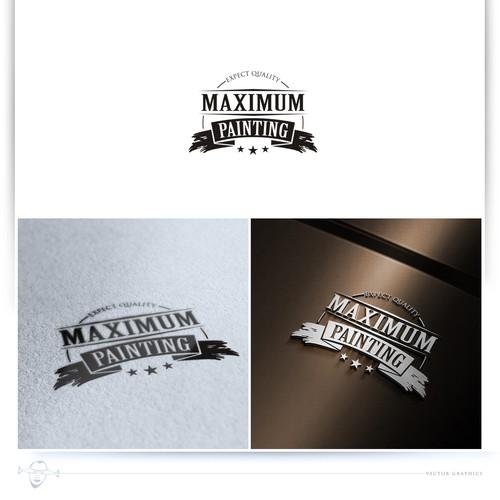 logo for Maxiumum Painting