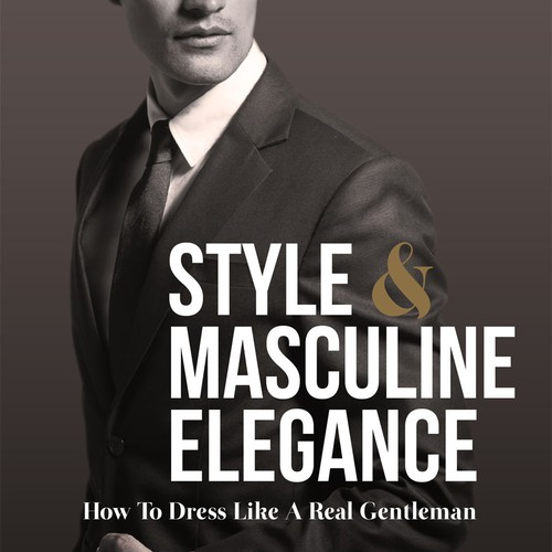 Book Cover Style & Masculine Elegance