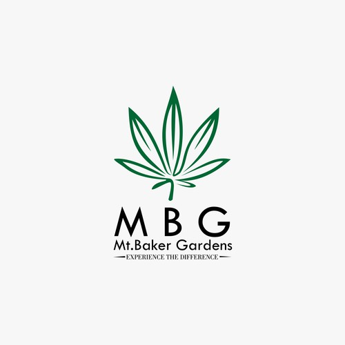 logo design for MBG (Mt.Baker Garden)