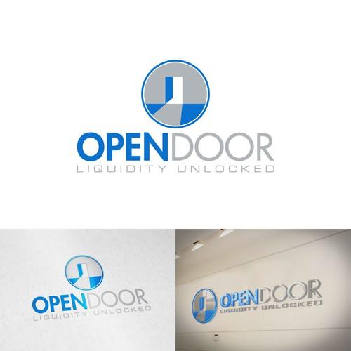 OPENDOOR Logo & Brand Identity Design