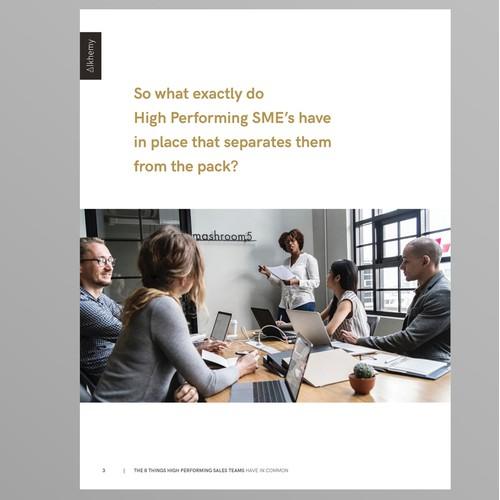 Minimal Corporate Ebook Design