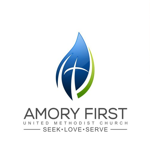logo concept for Amory First