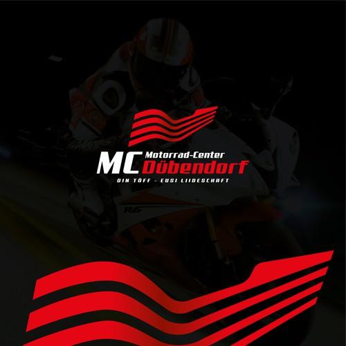 Conceito de logo para Motorrad-Center