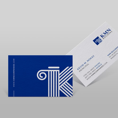 Business card for construction managers