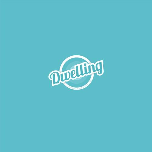 Flat typo logo