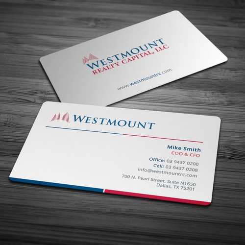 Modern Stylish Business Card