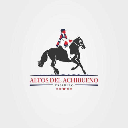 Logo for a Chilean rodeo horse farm