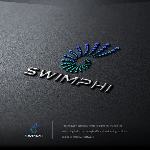 A Powerful Logo for a Swim Tech Company