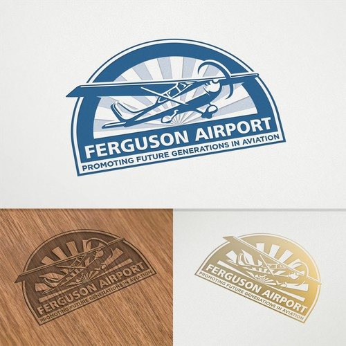 Logo concept for Ferguson Airport