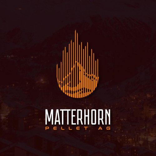 Materhorn of fire