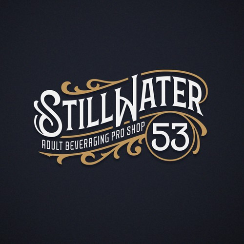Spirits Beverages Logo Design