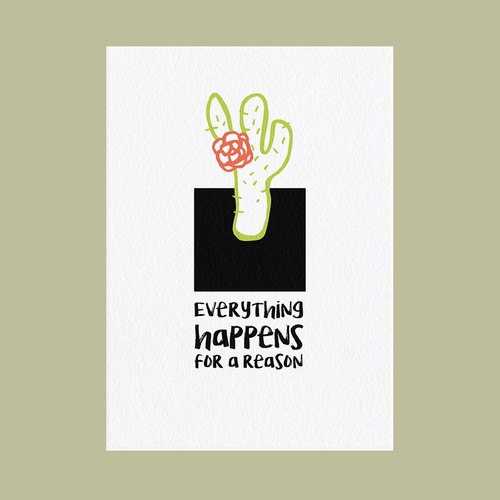 POSTCARD - Everything Happens For a Reason
