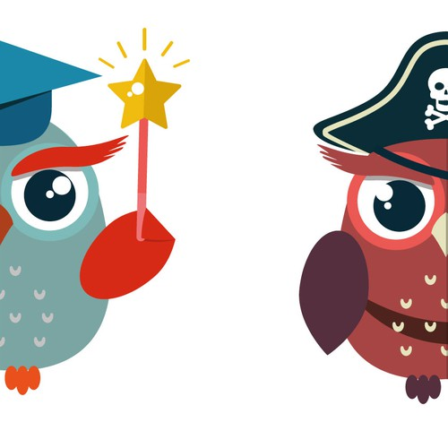 Mascot Owls Redesign .