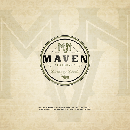 Logo Design Entry for Maven Extract Co