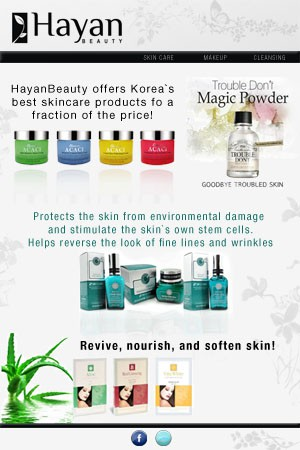 Help HayanBeauty with a new design