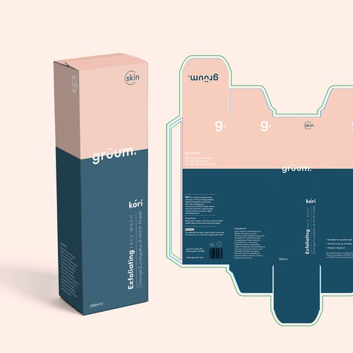 Face Wash Design entry
