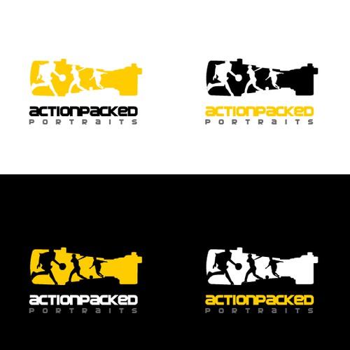 logo for sports photographer