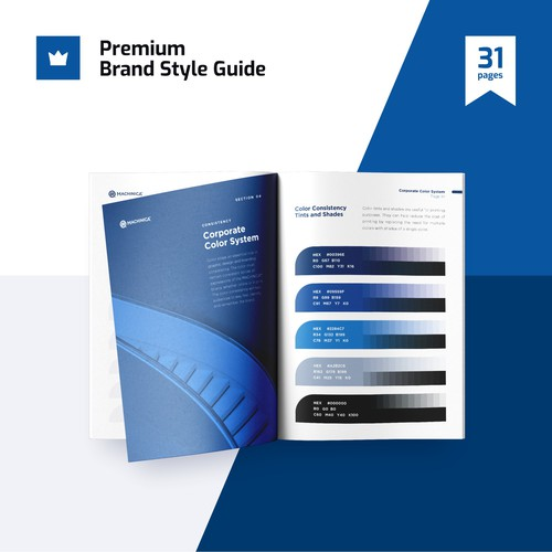Premium High Quality Brand Guide + Identity