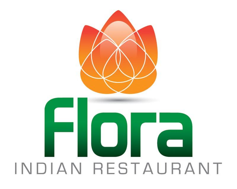 logo for Flora Indian Restaurant
