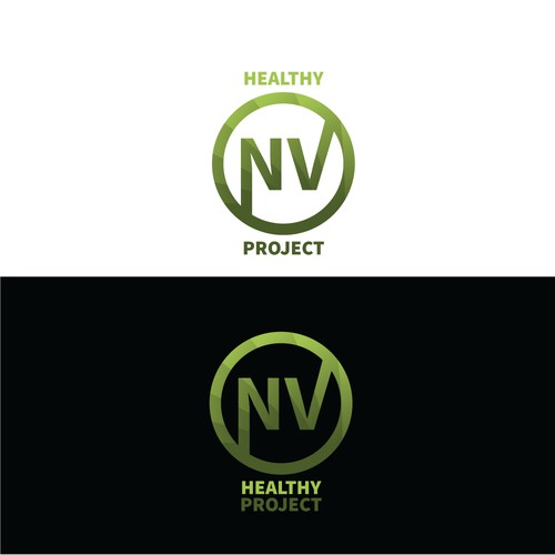 NV healthy Projects Logo design