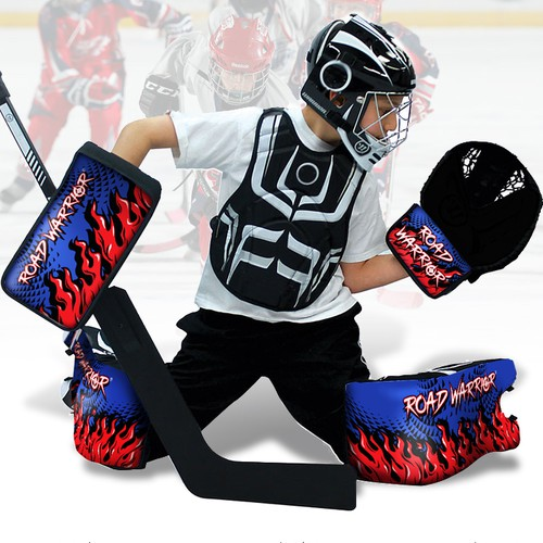Road Warrior Hockey Goalie Set