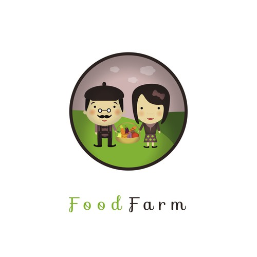 Logo concept for Food Farm