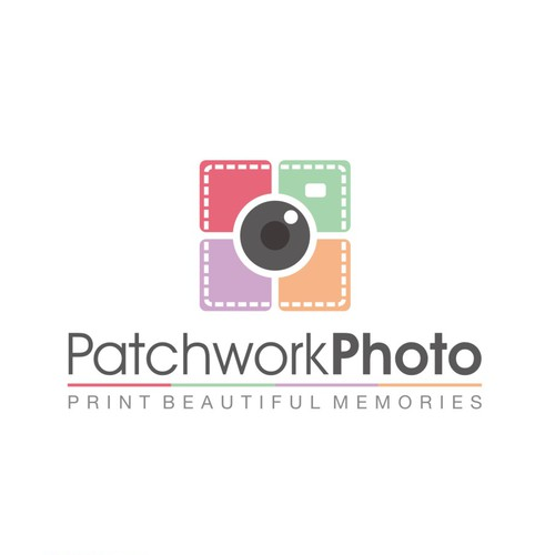 Logo design for creative photo printing business