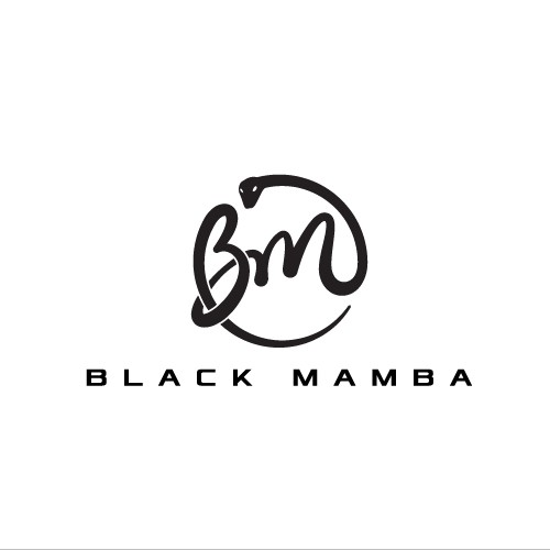 Elegant fashion logo for Black Mamba