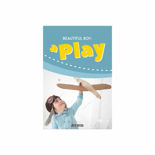 Contestan on book cover design titled 'A Play'