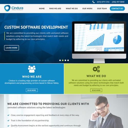 software development website