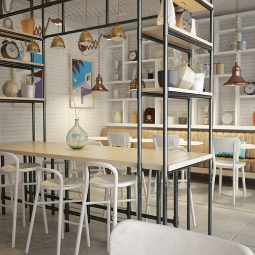 Interior Omaze Cafe