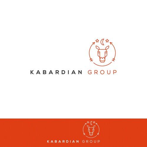 Modern reinvention of ancient emblem for new logo