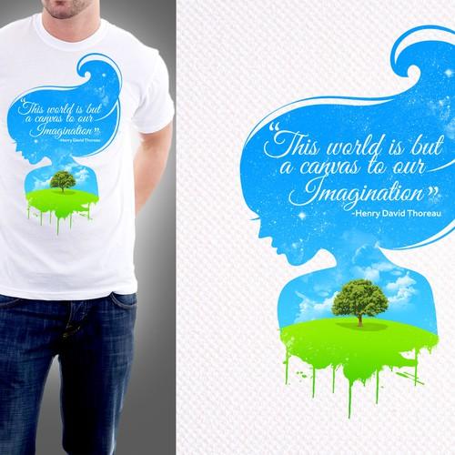 Design a Shirt, Change the World.