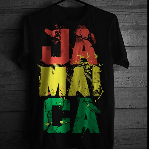 DESIGN TSHIRTS & EARN EXCELLENT BUCKS. (JAMAICA - YEA MON, NO PROBLEM,  RESPECT MON, ONE LOVE)