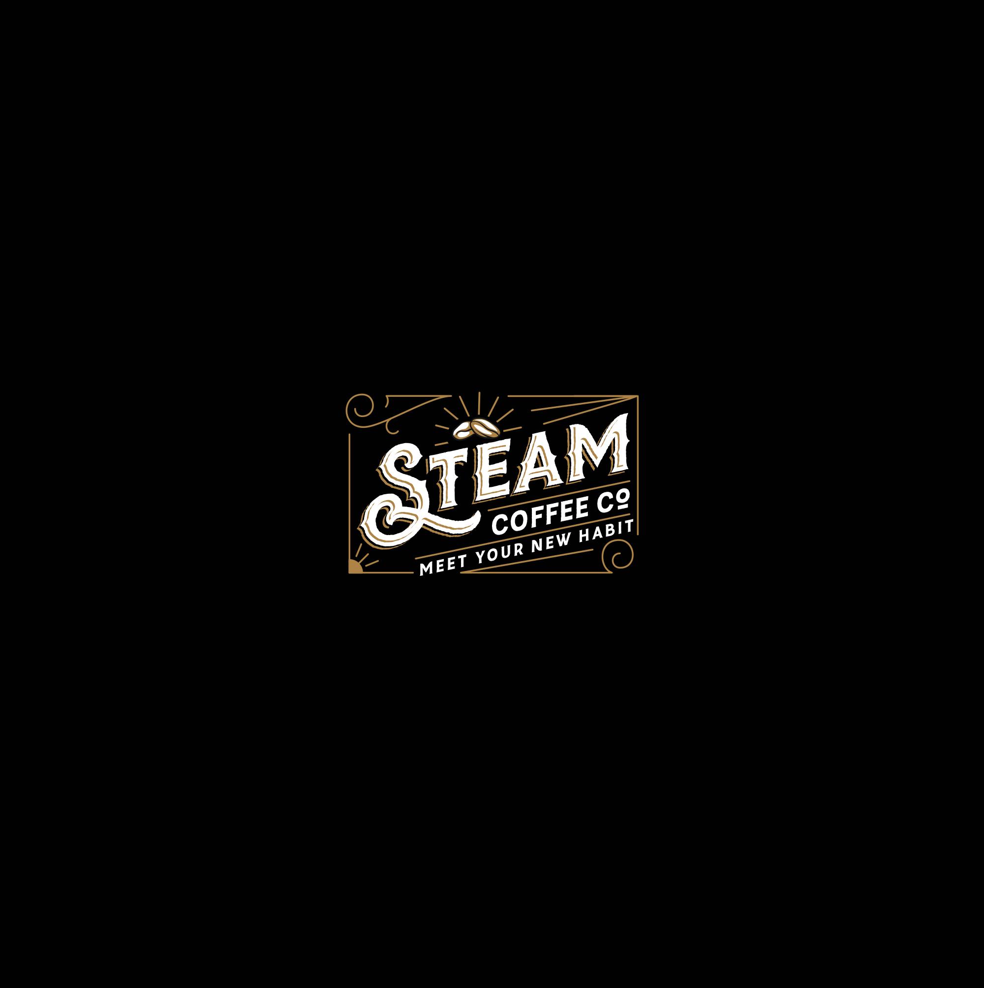 'Meet your new habit'  --- STEAM Coffee co.