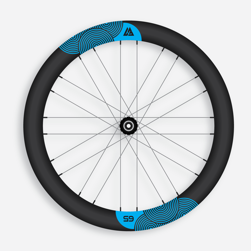 Graphic for a Carbon Bicycle Rim