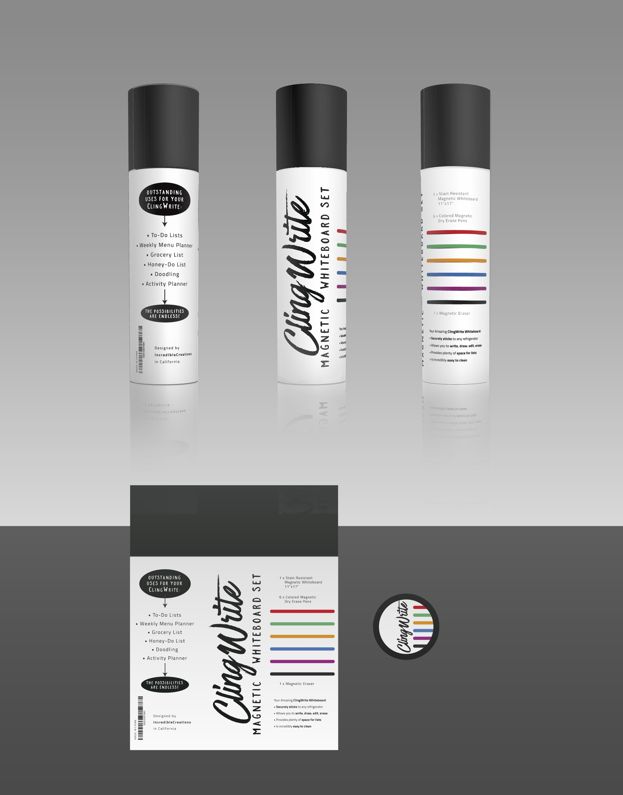 Design fun canister packaging for creative  home product