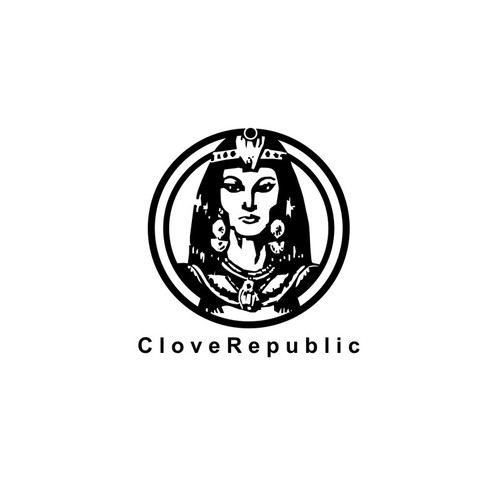 cleopatra silhouette logo